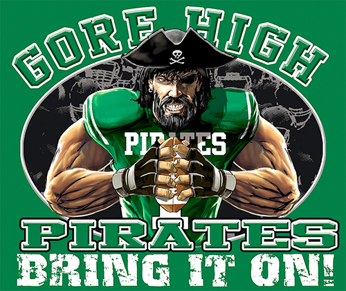 Pirates Football Bring It On! - 6, 63 Tee