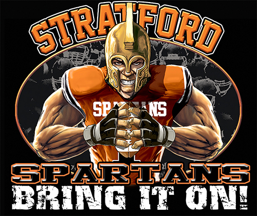 Spartans Football Bring It On! - 6, 63 Tee