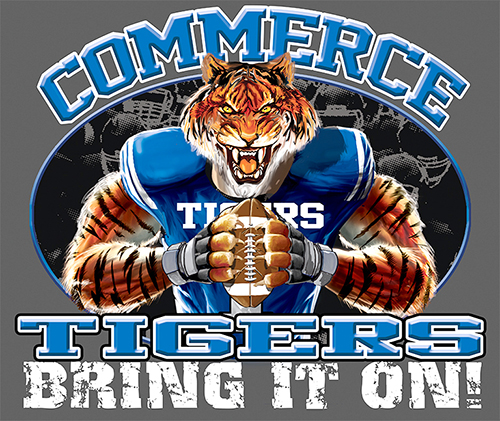 Tigers Football Bring It On! - 6, 63 Tee