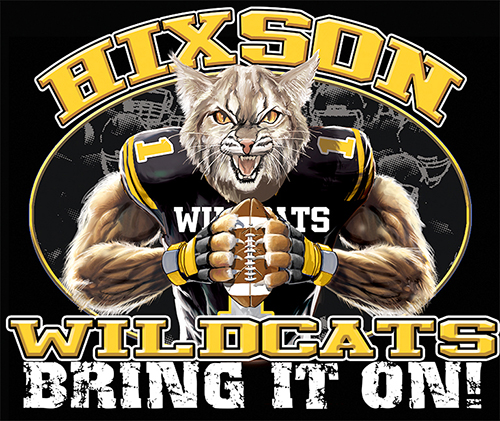 Wildcats Football Bring It On! - 6, 63 Tee