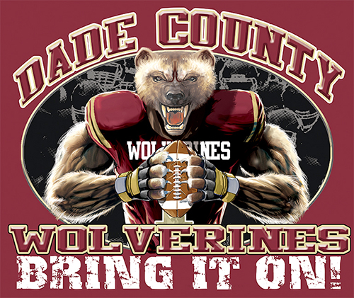 Wolverines Football Bring It On! - 6, 63 Tee