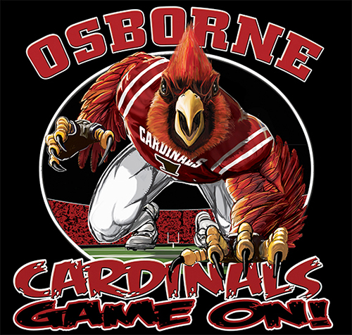 Cardinals Football Game On tee - 6, 64 Tee