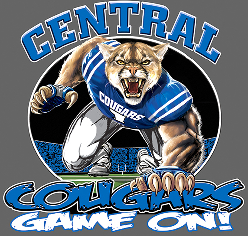 Cougars Football Game On tee - 6, 64 Tee
