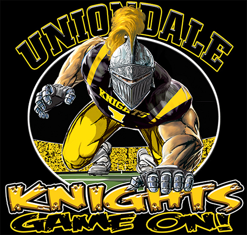 Knights Football Game On tee - 6, 64 Tee