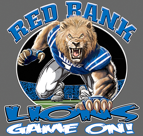 Lions Football Game On tee - 6, 64 Tee