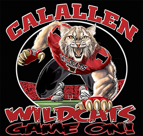 Wildcats Football Game On tee - 6, 64 Tee