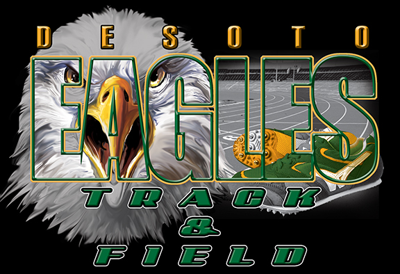 Desoto Eagles Custom Tees - 20, 66 Tee